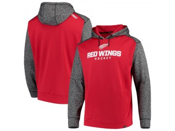 Mikina Detroit Red Wings Static Fleece Pullover Hoodie