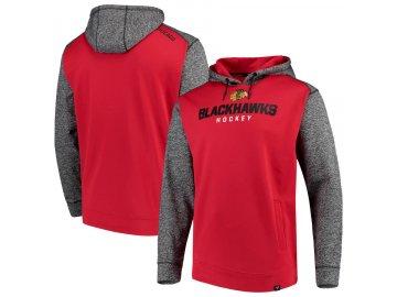 Mikina Chicago Blackhawks Static Fleece Pullover Hoodie