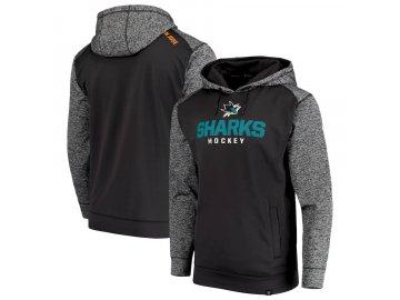 Mikina San Jose Sharks Static Fleece Pullover Hoodie