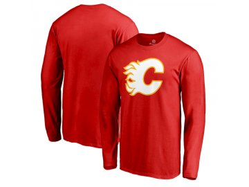 Tričko Calgary Flames Team Alternate Long Sleeve