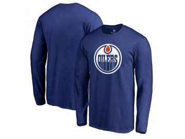 Dětské Tričko Edmonton Oilers Team Alternate Long Sleeve