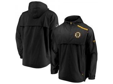 Bunda Boston Bruins Authentic Pro Rinkside Anorak 1/4-Zip