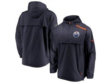 Bunda Edmonton Oilers Authentic Pro Rinkside Anorak 1/4-Zip