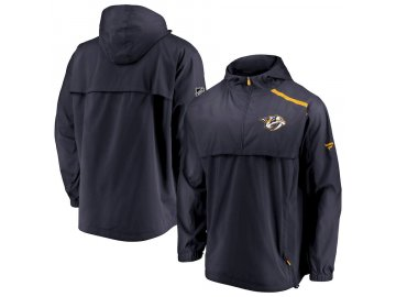Bunda Nashville Predators Authentic Pro Rinkside Anorak 1/4-Zip