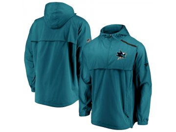 Bunda San Jose Sharks Authentic Pro Rinkside Anorak 1/4-Zip
