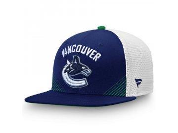 Kšiltovka Vancouver Canucks Iconic Spring Emblem Snapback