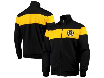 Bunda Boston Bruins G-III Sports by Carl Banks Strength Full-Zip Track Jacket