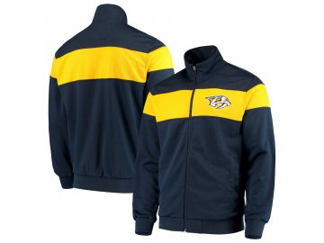Bunda Nashville Predators G-III Sports by Carl Banks Strength Full-Zip Track Jacket