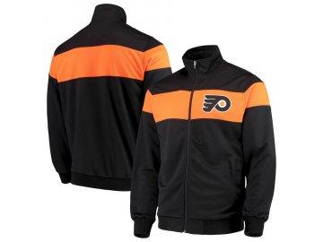 Bunda Philadelphia Flyers G-III Sports by Carl Banks Strength Full-Zip Track Jacket