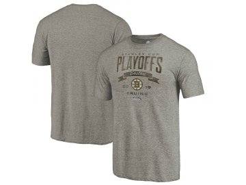 Tričko Boston Bruins 2019 Stanley Cup Playoffs Bound Buzzer Beater Tri-Blend