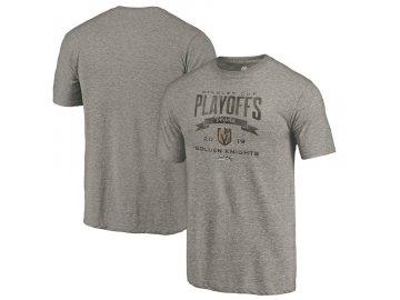 Tričko Vegas Golden Knights 2019 Stanley Cup Playoffs Bound Buzzer Beater Tri-Blend