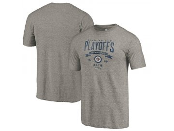 Tričko Winnipeg Jets 2019 Stanley Cup Playoffs Bound Buzzer Beater Tri-Blend