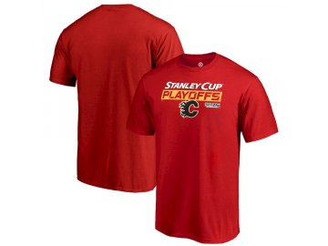 Tričko Calgary Flames 2019 Stanley Cup Playoffs Bound Body Checking