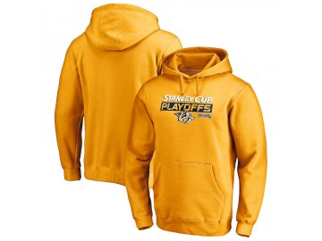 Mikina Nashville Predators 2019 Stanley Cup Playoffs Bound Body Checking Pullover Hoodie