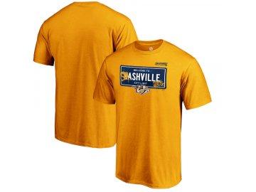 Tričko Nashville Predators 2019 Stanley Cup Playoffs Bound Charging