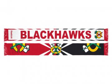 Šála Chicago Blackhawks Jacquard Wordmark Scarf 17