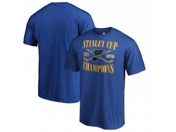 Pánské tričko St. Louis Blues 2019 Stanley Cup Champions Hand Pass