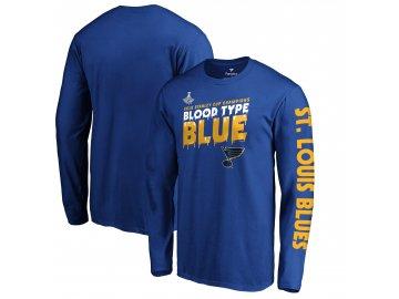 Pánské tričko St. Louis Blues 2019 Stanley Cup Champions Home Ice Long Sleeve
