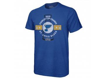 Pánské tričko St. Louis Blues 2019 Stanley Cup Champions Come Prepared