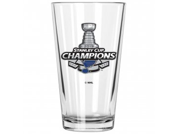 Sklenička St. Louis Blues 2019 Stanley Cup Champions 17oz. Mixing Glass