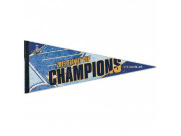 Vlajka St. Louis Blues WinCraft 2019 Stanley Cup Champions 12'' x 30'' Premium Pennant