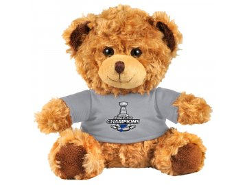 Plyšový medvídek St. Louis Blues 2019 Stanley Cup Champions Plush Bear