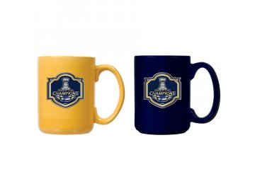 Set hrnků St. Louis Blues 2019 Stanley Cup Champions 2-Piece Team Color Mug Set