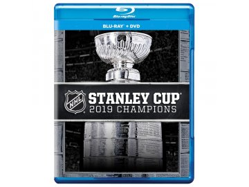 DVD a Blu-ray Combo St. Louis Blues 2019 Stanley Cup Champions