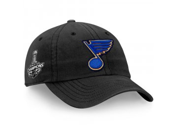 Kšiltovka St. Louis Blues 2019 Stanley Cup Champions Primary Logo Slouch Adjustable