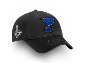 Kšiltovka St. Louis Blues 2019 Stanley Cup Champions Primary Logo Structured Adjustable