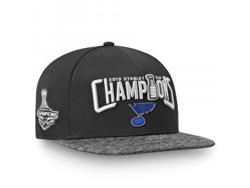 Kšiltovka St. Louis Blues 2019 Stanley Cup Champions Snapback Adjustable