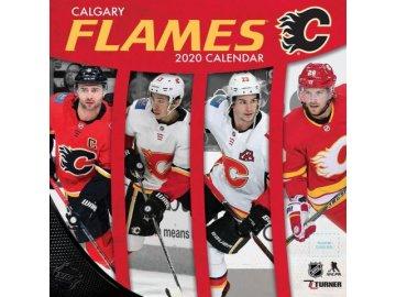 Kalendář Calgary Flames 2020 Wall  x