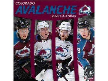 Kalendář Colorado Avalanche 2020 Wall  x