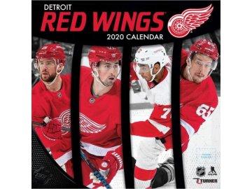 Kalendář Detroit Red Wings 2020 Wall  x