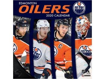 Kalendář Edmonton Oilers 2020 Wall  x