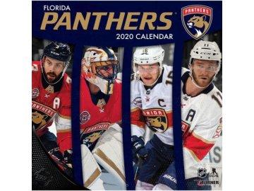 Kalendář Florida Panthers 2020 Wall  x