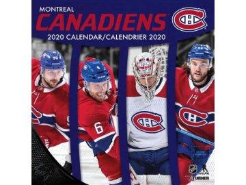 Kalendář Montreal Canadiens 2020 Wall  x