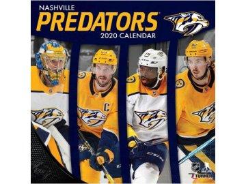 Kalendář Nashville Predators 2020 Wall  x