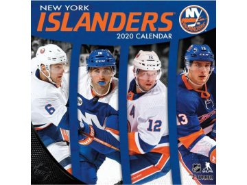 Kalendář New York Islanders 2020 Wall  x