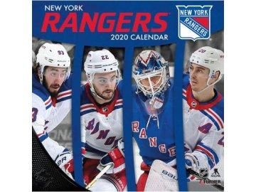 Kalendář New York Rangers 2020 Wall  x