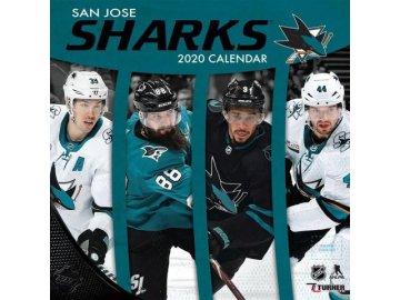 Kalendář San Jose Sharks 2020 Wall  x