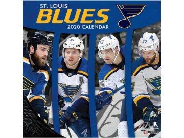 Kalendář St. Louis Blues 2020 Wall  x