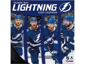 Kalendář Tampa Bay Lightning 2020 Wall  x