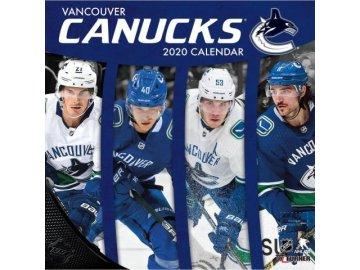 Kalendář Vancouver Canucks 2020 Wall  x
