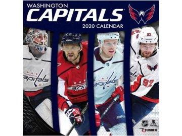 Kalendář Washington Capitals 2020 Wall  x