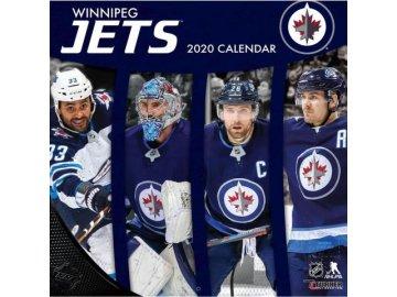 Kalendář Winnipeg Jets 2020 Wall  x