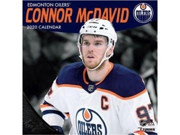 Kalendář Edmonton Oilers Connor Mcdavid 2020 Wall