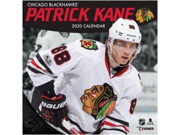 Kalendář Chicago Blackhawks Patrick Kane 2020 Wall