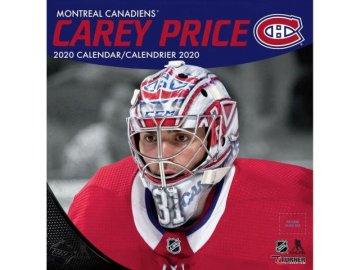 Kalendář Montreal Canadiens Carey Price 2020 Wall