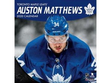 Kalendář Toronto Maple Leafs Auston Matthews 2020 Wall